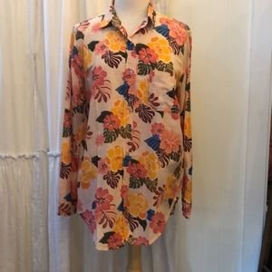 Acacia Milos Button Up Top